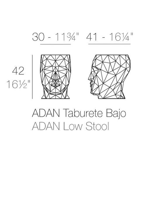 TABOURET ADAN