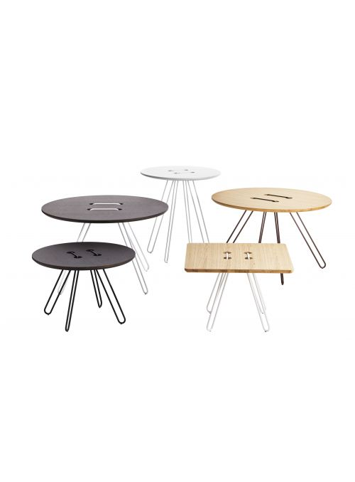 TABLE BASSE TWINE CHENE MOKA