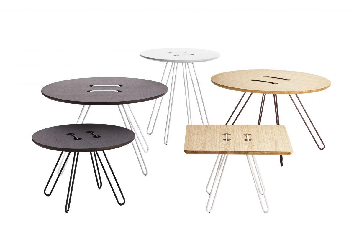 TABLE BASSE TWINE CHENE MOKA