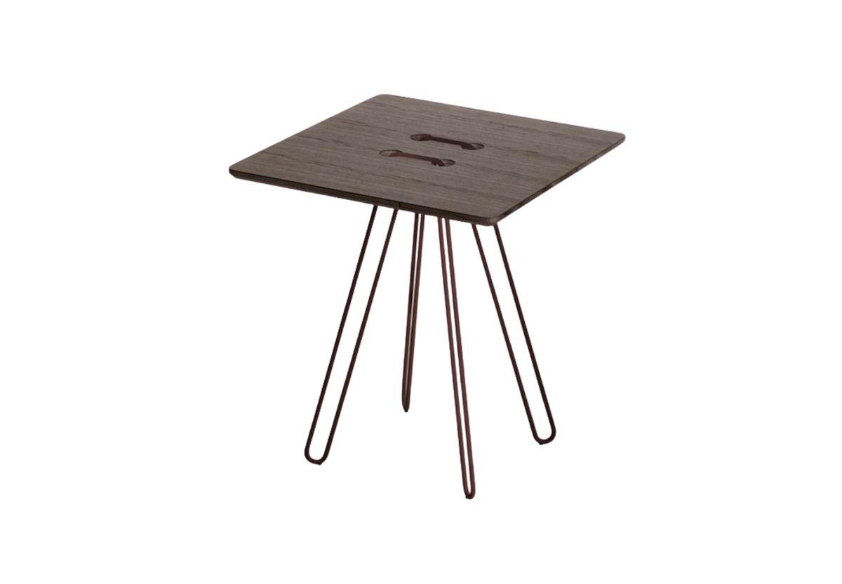TABLE BASSE TWINE D CHENE MOKA