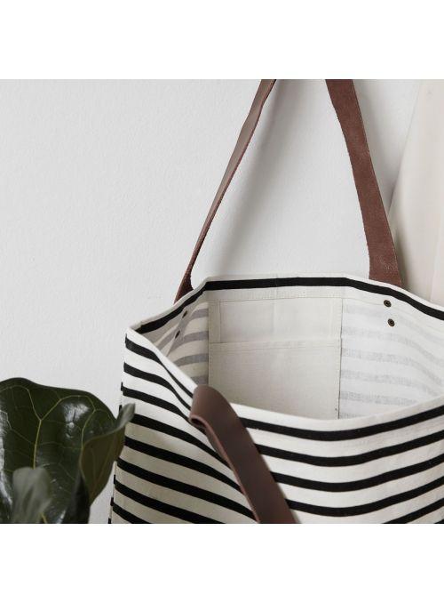 Sac Shopping Stripes
