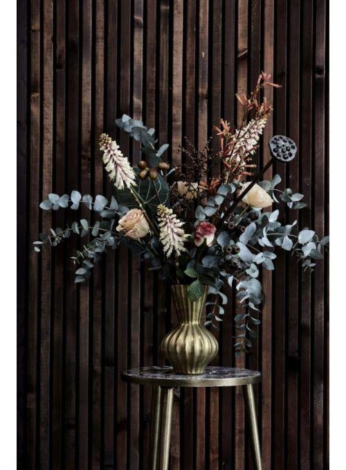 fleur Lin marron