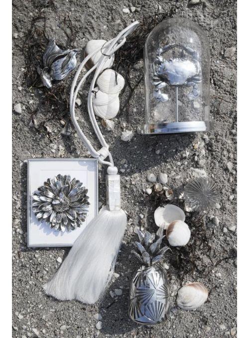 Cloche Serafina argent antique
