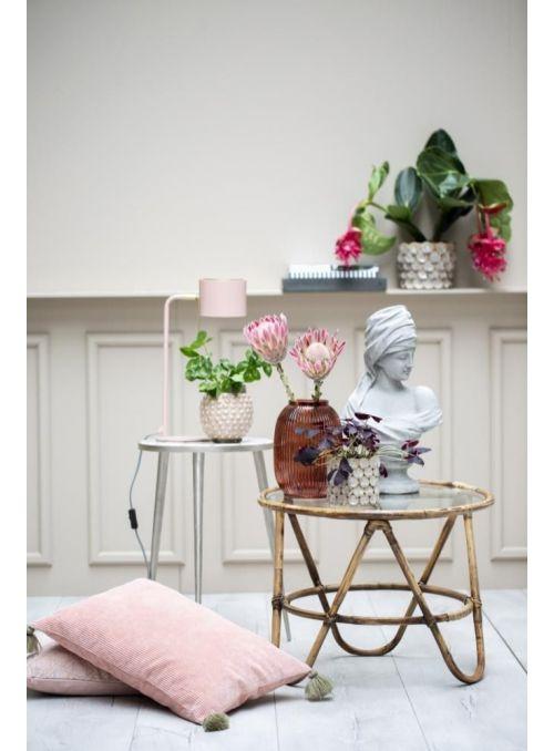 pot de fleurs Magna rose...