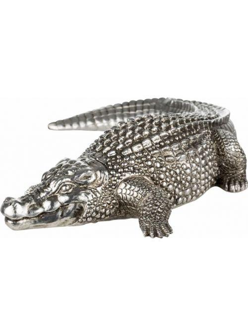 Serafina crocodile argent...