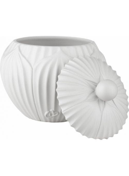 pot à cosmétique Garlia blanc