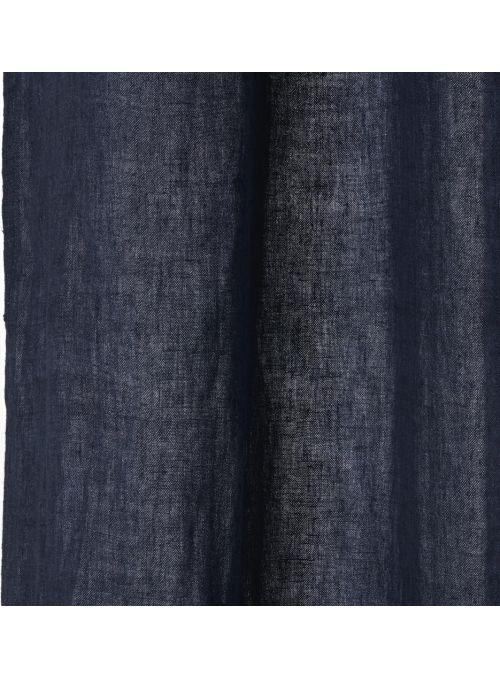 Rideau Dalila bleu indigo