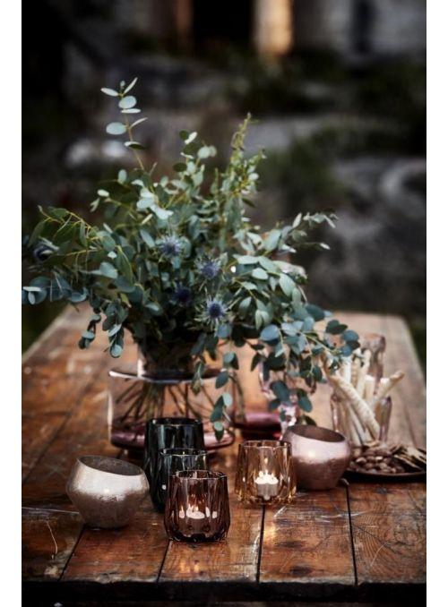 vase Hedria rose