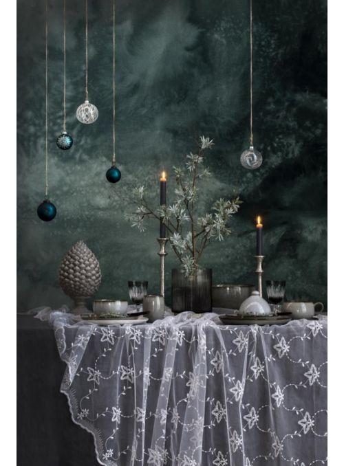 chandelier Signe argent