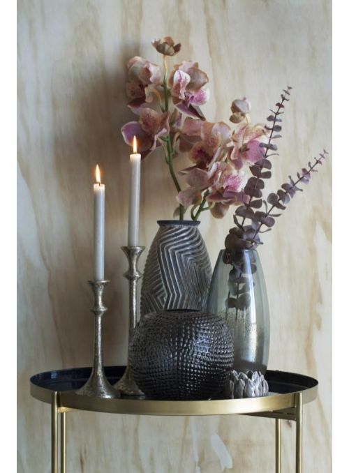 chandelier Signe or clair