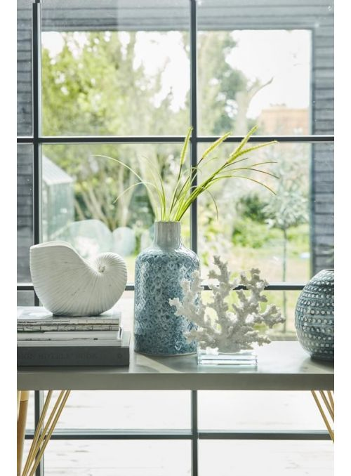 vase Selielle bleu moyen