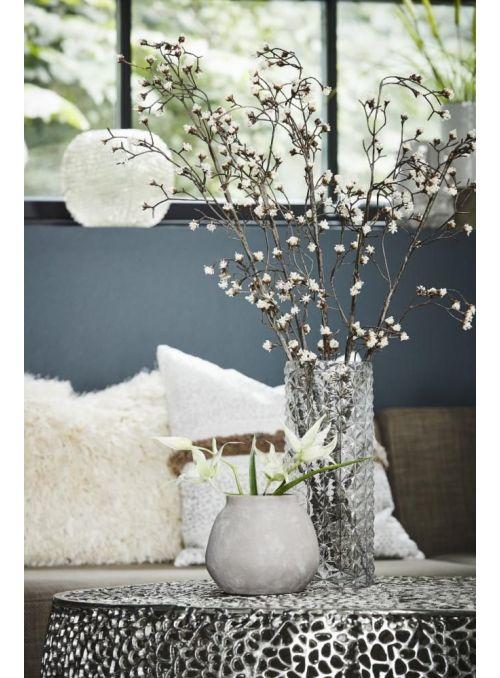 pot de fleurs Asielle gris