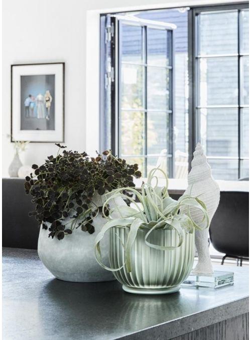pot de fleurs Hermona vert