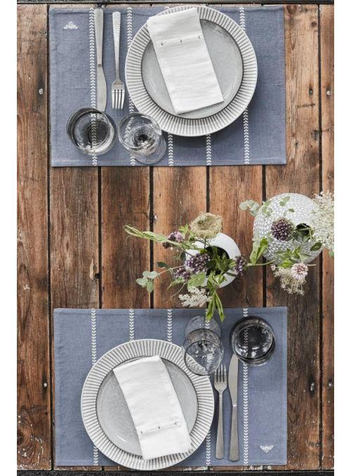 Set de table Bilia bleu moyen