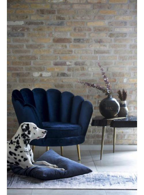 Santena chaise bleu