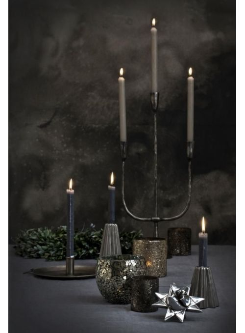 chandelier  Dana argent