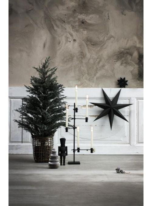 chandelier Dana noir