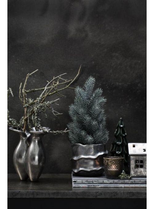 vase Vinera gris argenté