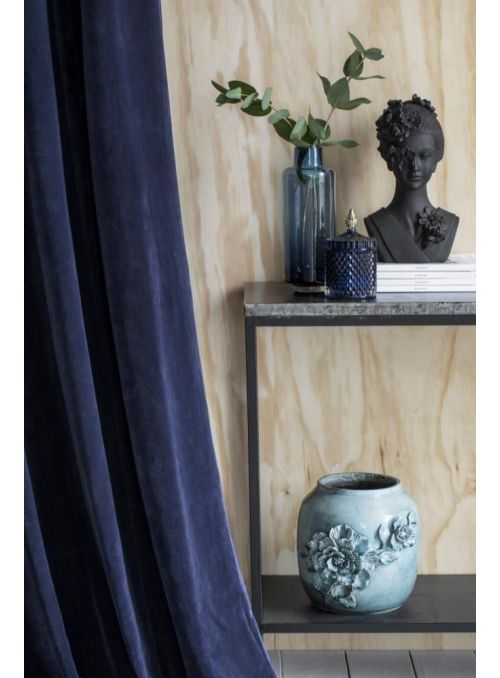 vase Hedria bleu