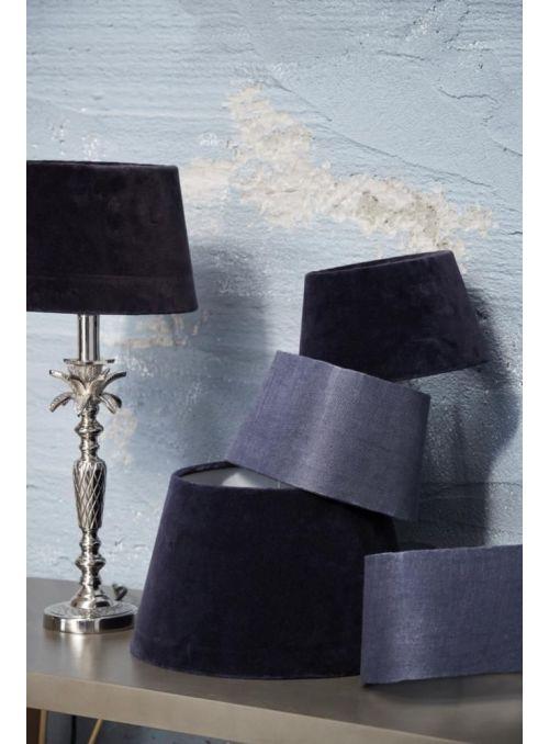 abat-jour Plain Velvet bleu
