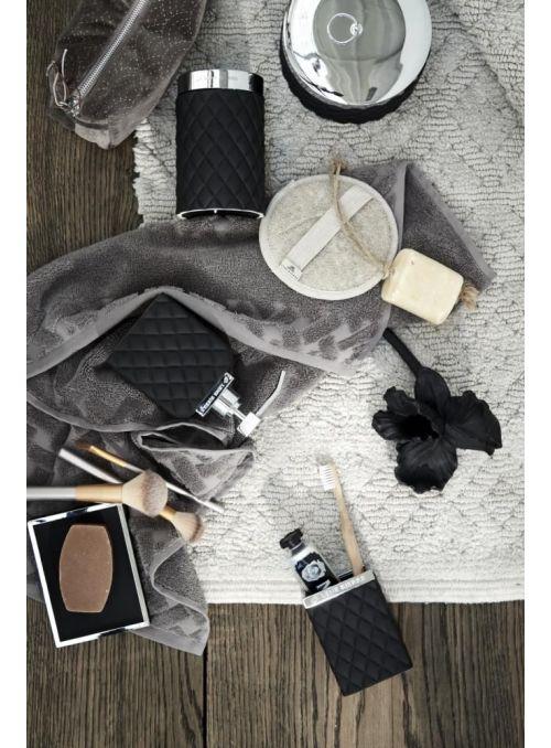 Portia porte-savon noir