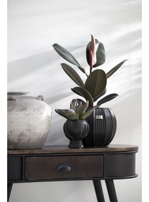 pot de fleurs Nerie noir