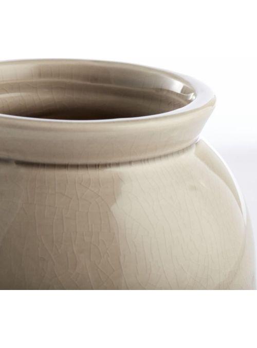 vase Clary chateau/cremé