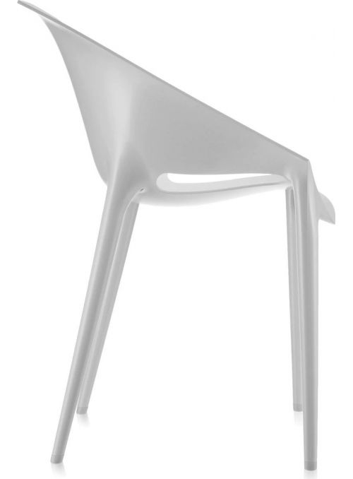 CHAISE DR. YES BLANC MAT