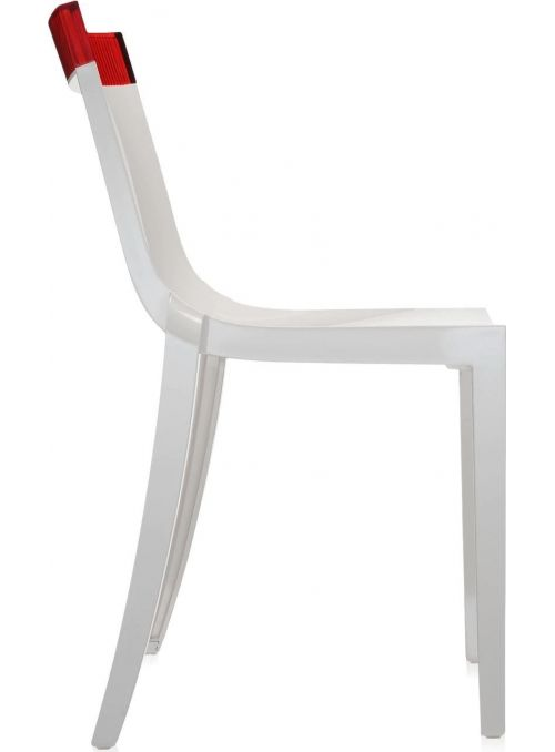 CHAISE HI-CUT BLANC & ROUGE