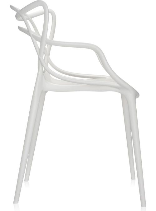 CHAISE MASTERS BLANC