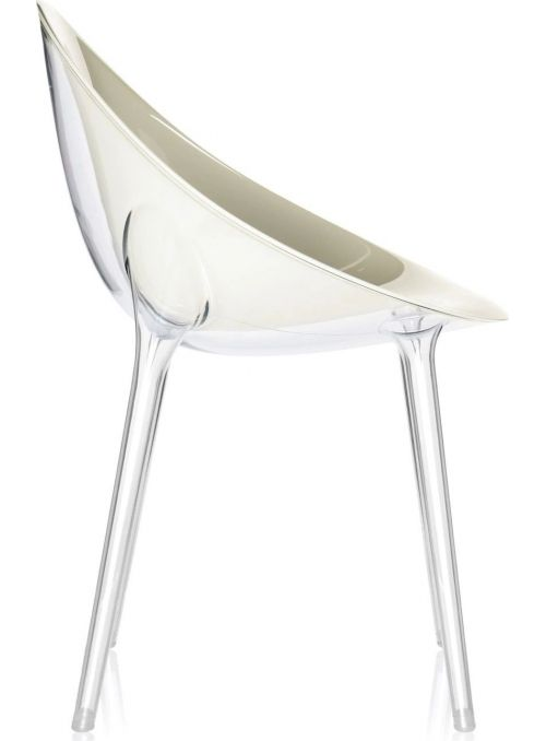 CHAISE MR. IMPOSSIBLE BLANC...