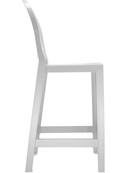 TABOURET ONE MORE 65CM BLANC