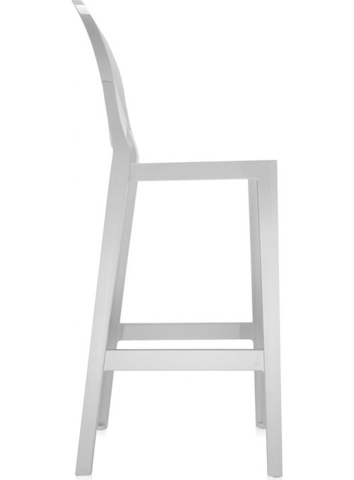 TABOURET ONE MORE 75CM BLANC