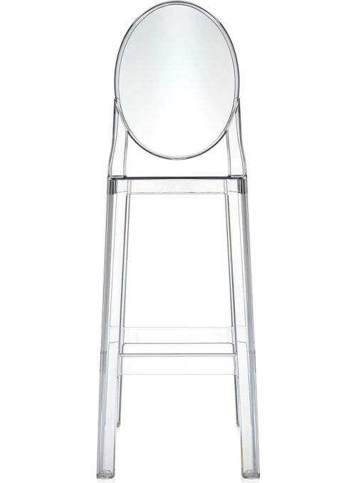 TABOURET ONE MORE 75CM CRISTAL