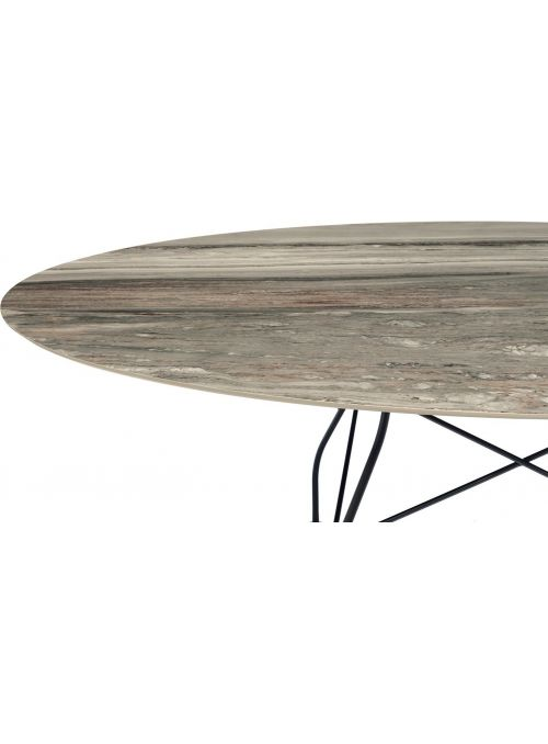 TABLE GLOSSY MARBLE...