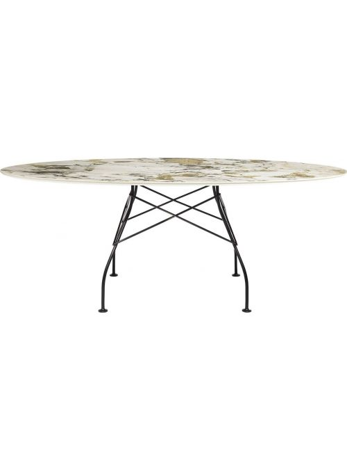 TABLE GLOSSY MARBLE SYMPHONIE