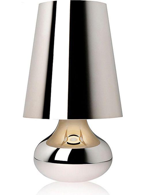 LAMPE DE TABLE CINDY PLATINE