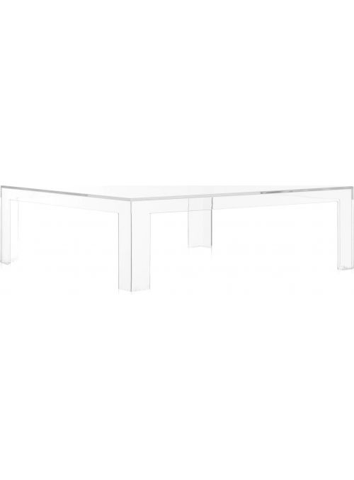 TABLE BASSE INVISIBLE CRISTAL