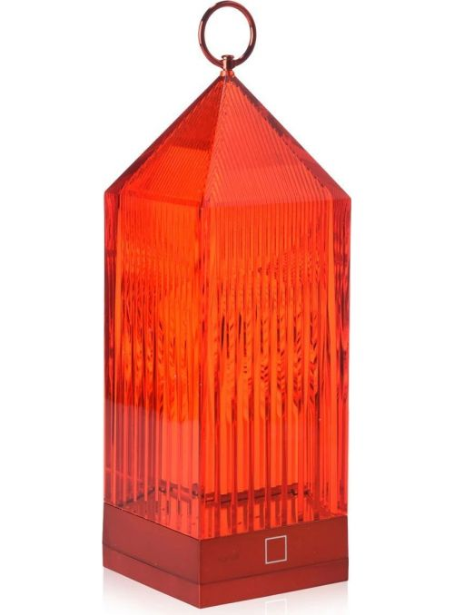 LAMPE DE TABLE LANTERN ROUGE