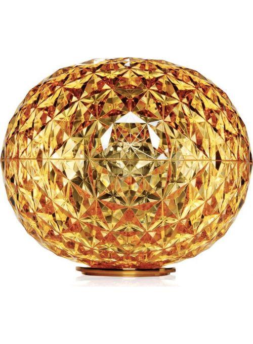 LAMPE DE TABLE PLANET JAUNE