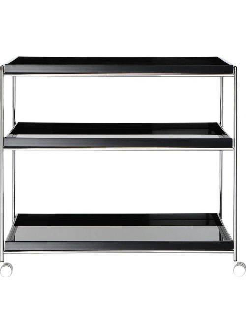 ETAGERE TRAYS NOIR BRILLANT
