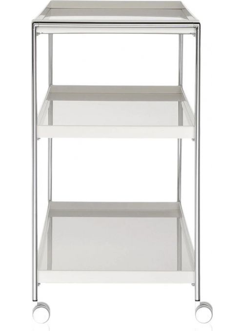 ETAGERE TRAYS BLANC BRILLANT