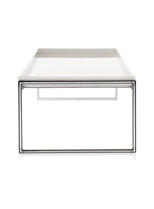 TABLE TRAYS BLANC BRILLANT