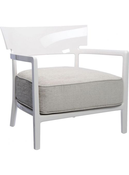 FAUTEUIL CARA SOLID IVOIRE