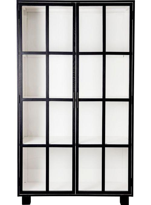 Armoire avec portes vitrées...