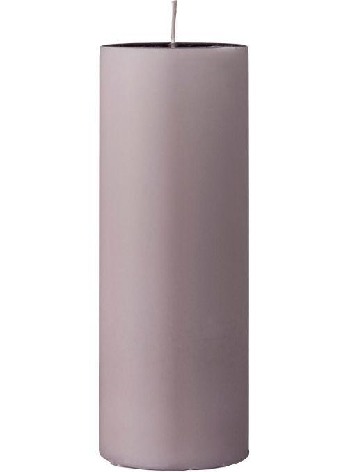 Bougie décorative 15cm - Rose