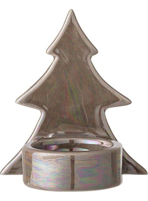 Bougeoir Noël Mara - brun