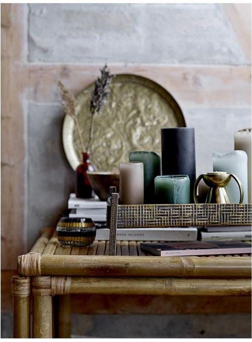 Bougie décorative 20cm -...