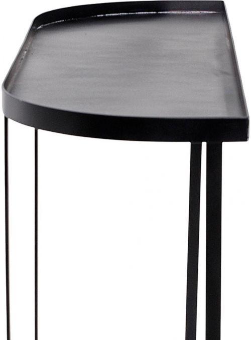 Console en métal Harper - noir