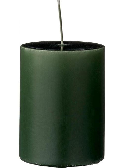 Bougie décorative verte...
